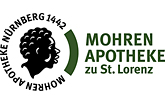 Mohren-Apotheke zu St. Lorenz Nürnberg Logo