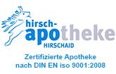 Hirsch-Apotheke Hirschaid Logo