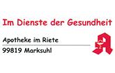 Apotheke im Riete Marksuhl Logo